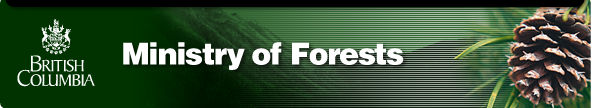 Ministry of Forests - Main Banner